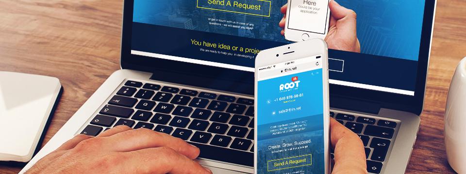 ROOTin Website